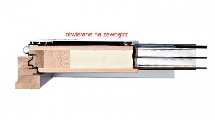 Holz alut ren fenster aus polen kraina okien - Dachfenster aus polen mit einbau ...